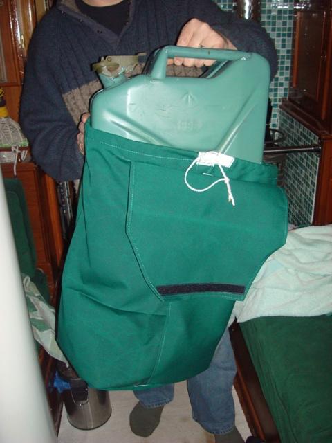 Petrol can bag