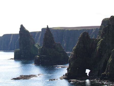 The stacks of Duncansby